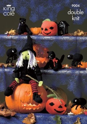 King Cole Halloween Knitting Pattern (9004)