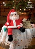 King Cole Father Christmas Pattern (8000)