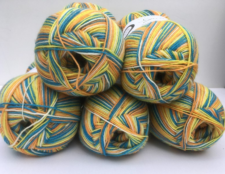 Marie Curie Limited Edition Sock Yarn 2018 - All Colours