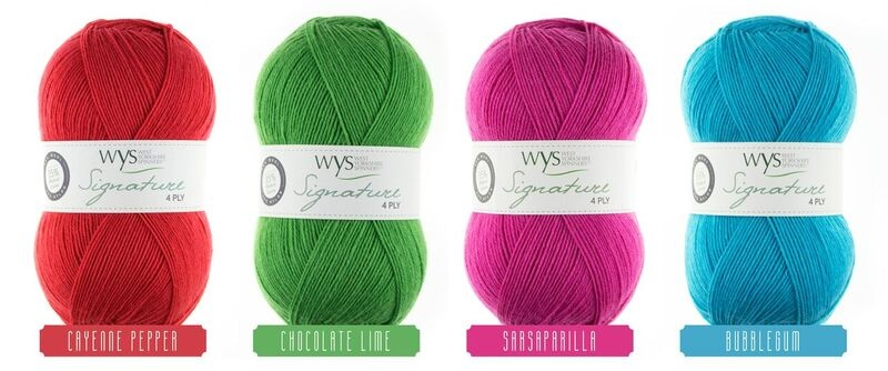 West Yorkshire Spinners Signature 4ply Pack three - 'Fairy Lights Co-ordinates'