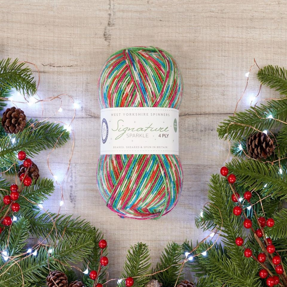 Signature Sparkle 'Fairy Lights' - West Yorkshire Spinners Christmas Collection