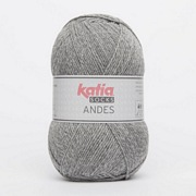 Katia Andes sock yarn 204