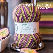 West Yorkshire Spinners Signature 4ply Cocktail Range PASSION FRUIT
