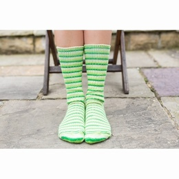 West Yoekshire Spinners Luxury Bluefaced Leicester Socks Mojito Cocktail Range Size 3-5