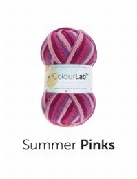 WYS Colour Lab DK Summer Pinks (893)