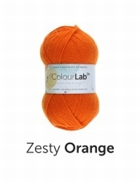 WYS Colour Lab DK  Zesty Orange