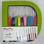 Knit Pro Waves Single Ended Crochet Hook Set
