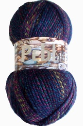 Woolcraft Pebble Chunky 8044 Harlequin