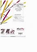 KnitPro Spectra Trendz Acrylic Needles Interchangeable Starter Knitting Needle Set.