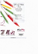 KnitPro Spectra Trendz Acrylic Needles Interchangeable Chunky Knitting Needle Set.
