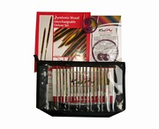 KnitPro Symfonie Wood Interchangeable Deluxe Knitting Needle Set